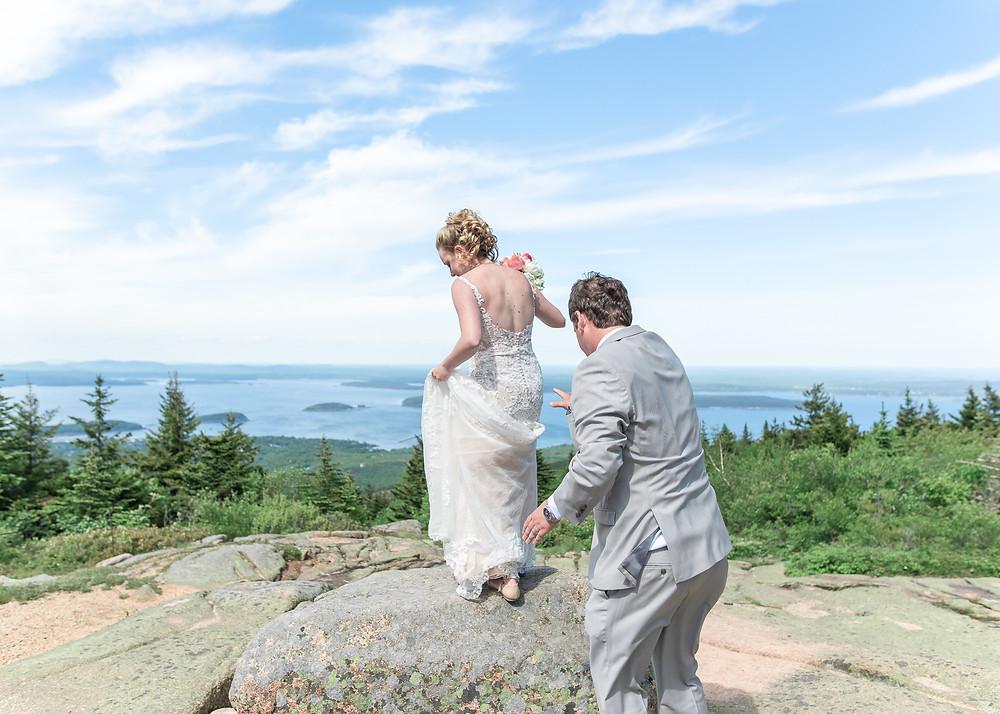 Acadia National Park Wedding Photography