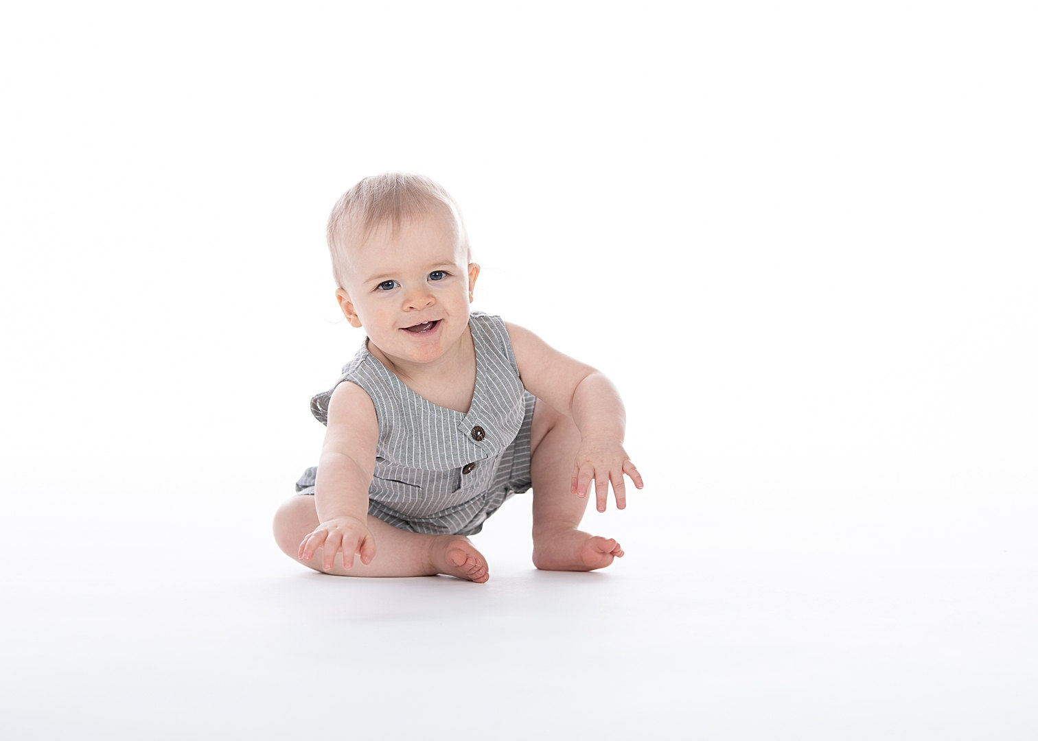 Baby boy birthday photoshoot