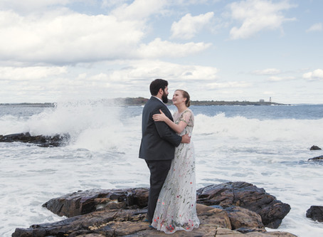 Eva + Michael | Biddeford Pool, Maine | Oceanfront Wedding |