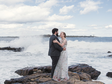 Eva + Michael | Biddeford Pool, Maine | Oceanfront Wedding |