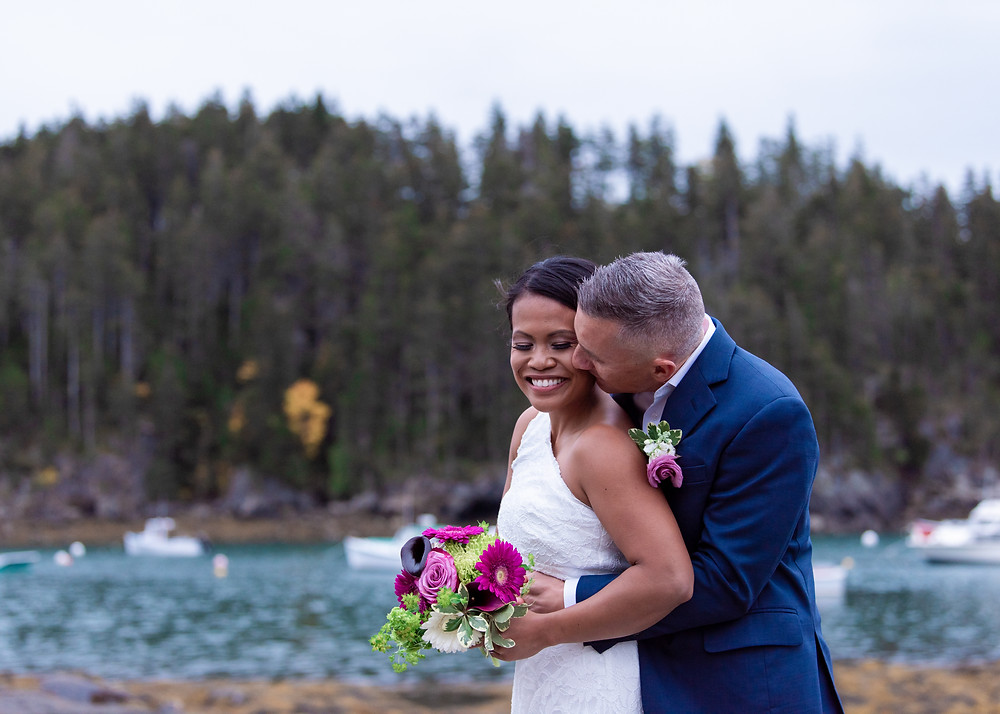 Elopement photography in Maine
