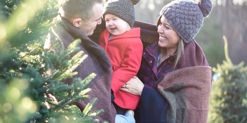 November Christmas Tree Farm Family Event