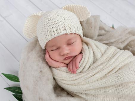 Maine Newborn Photographer | Baby J | Studio Newborn Photography and Lifestyle Newborn Photography