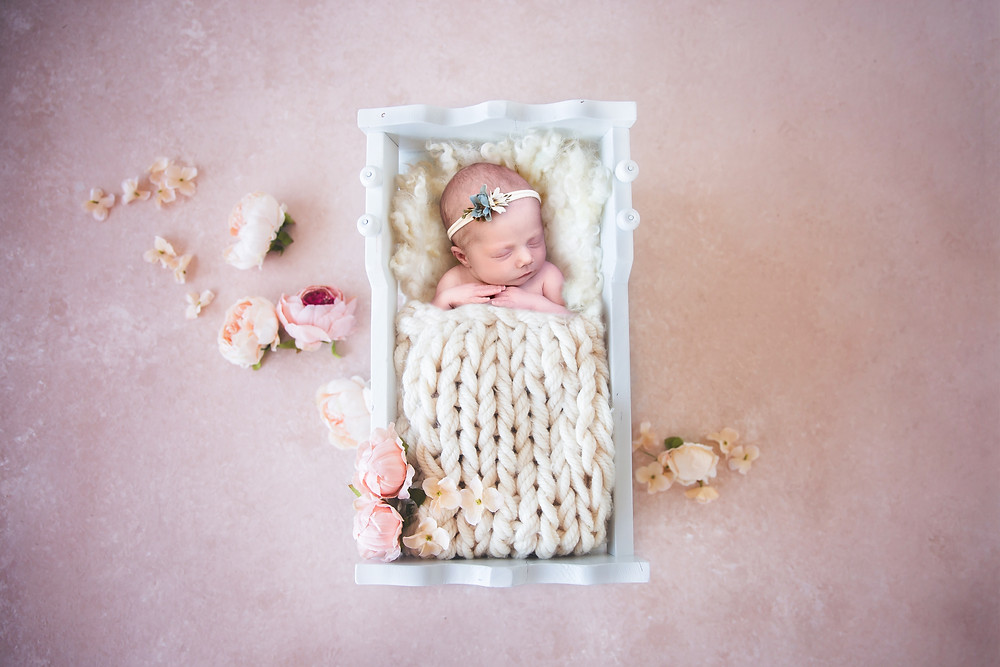 Newborn photography and newborn baby photos at our Portland, Maine photography studio