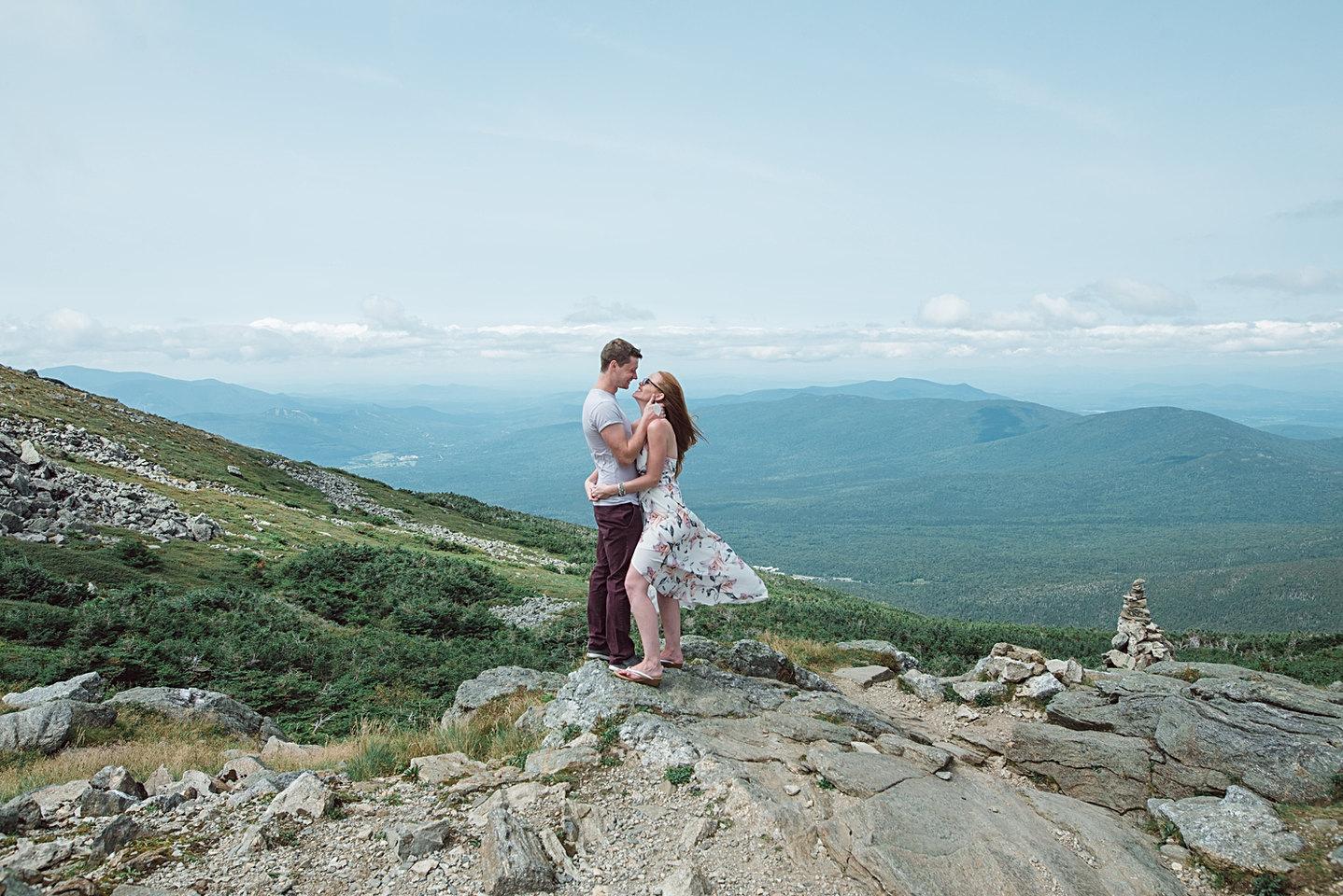 Adventure Engagement Photographer Maine and New Hampshire