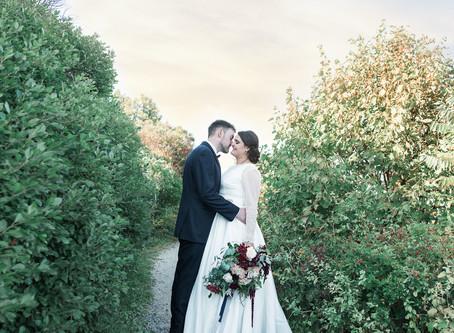 Bailey Island Library Hall Wedding Photography | St. John's Baptist Church | Megan + Jonathan