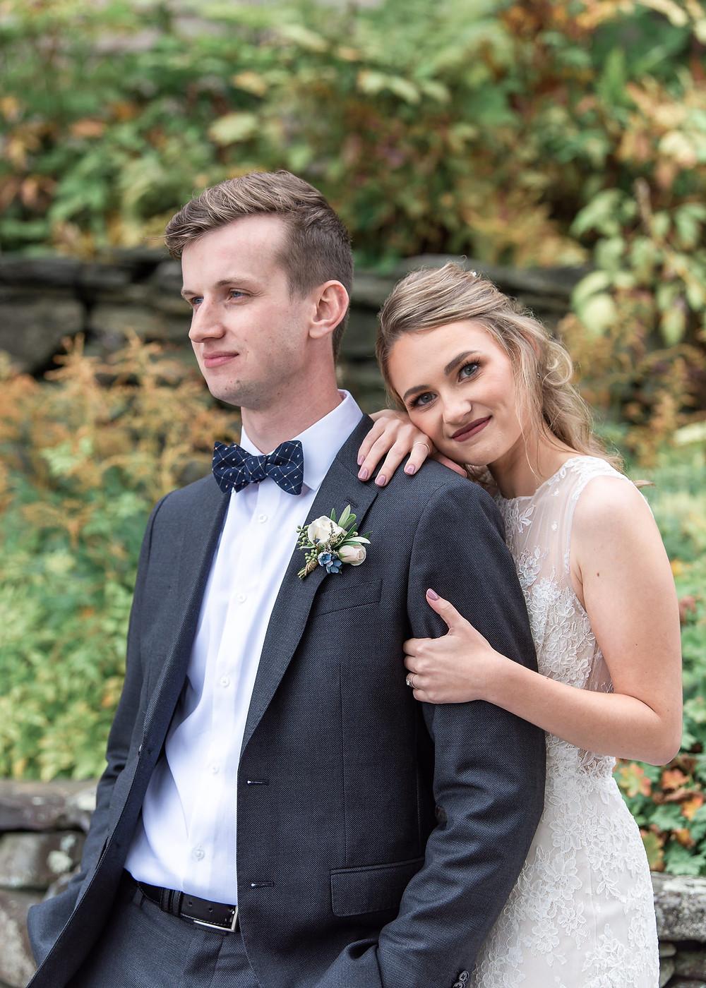 Maine fall wedding at Beech Hill Barn