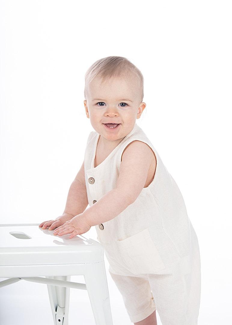 Baby boy photoshoot in Maine