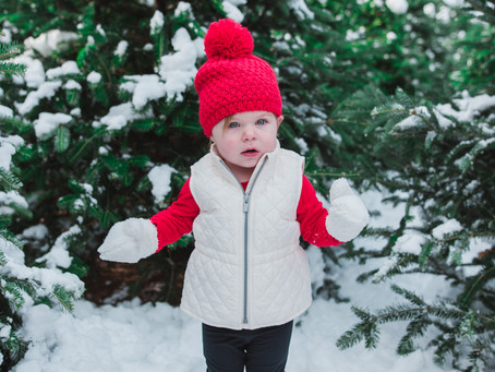 Holiday Family Sessions | Maine Family Photographer | Winter Family Photography