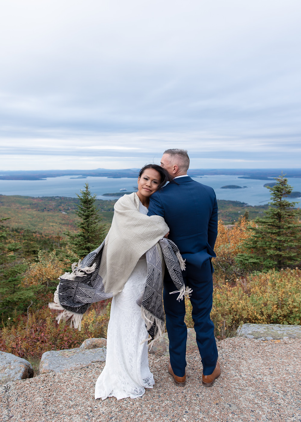 Acadia maine elopement photographer
