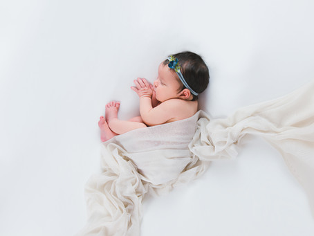 Baby Lillian | Maine Newborn Photographer | November Baby Photography