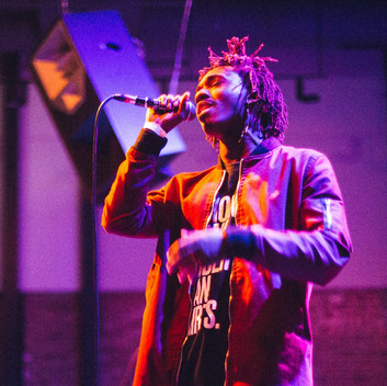 Malcolm London: Poetic Hip-Hop At The Woodward Theater