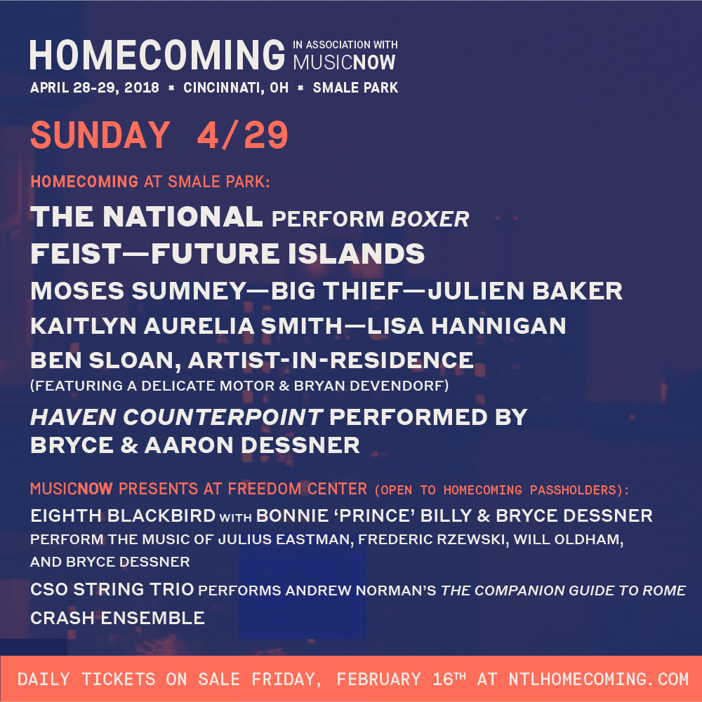 Look at all these great acts you could see!