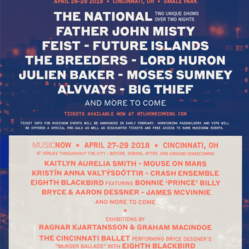 Homecoming Lineup Announced!