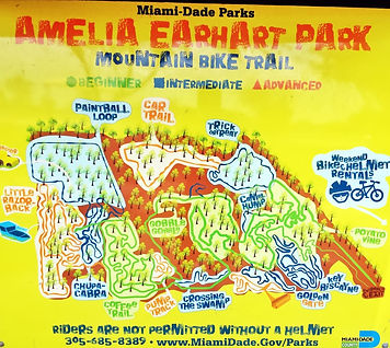 Amelia earhart park bololo cycling