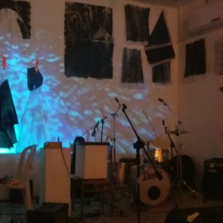 Tipolet gallery space view_gig night