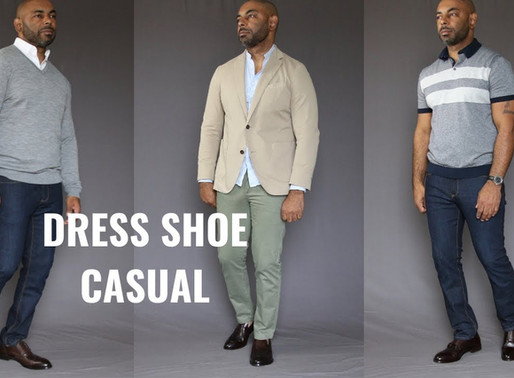 How to Wear Dress Shoes Casually