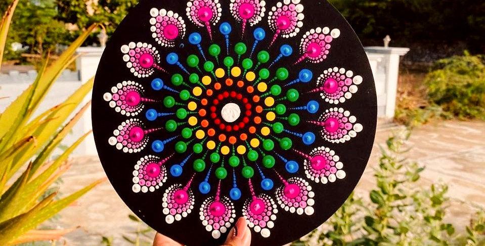 Dot Mandala DIY Kit (INTERMEDIATE)
