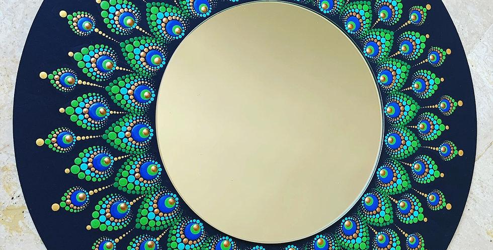 Mirrored Krishna