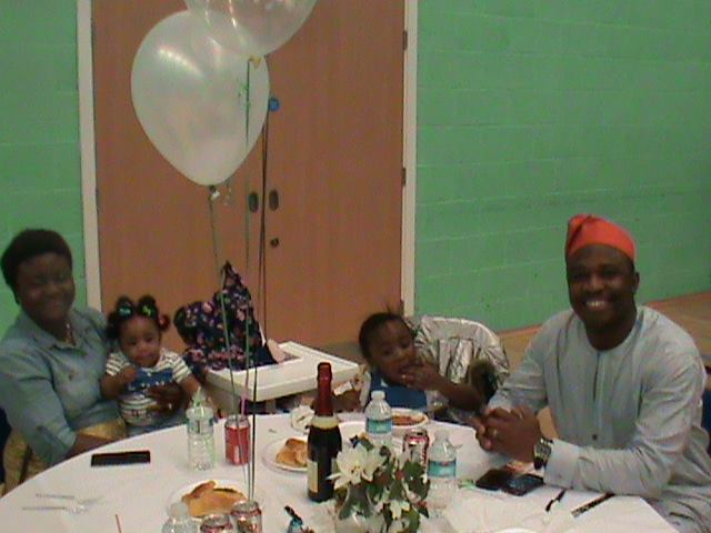 NANC Assistant Social Sec - Seyi Obadare and family