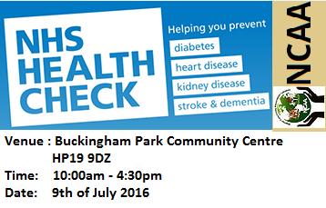 Free NHS Healthcheck