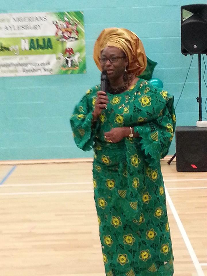 Nigerian Community Association Bedforshire President - Dr (Mrs) Pamela Bernard -MBE