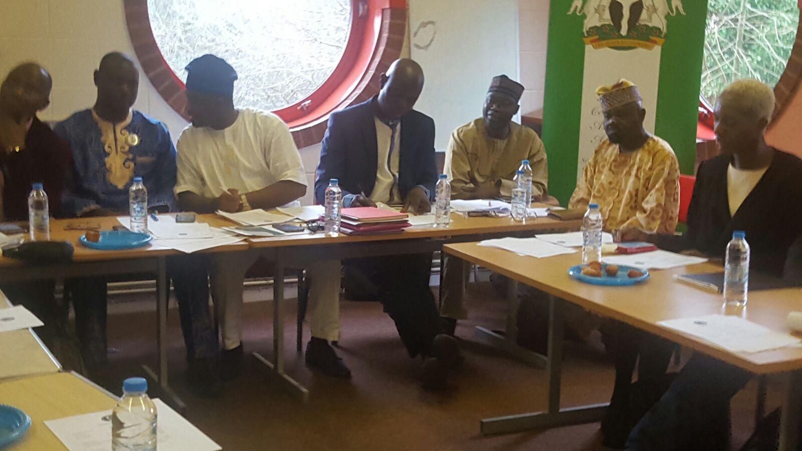 During NANC AGM Meeting