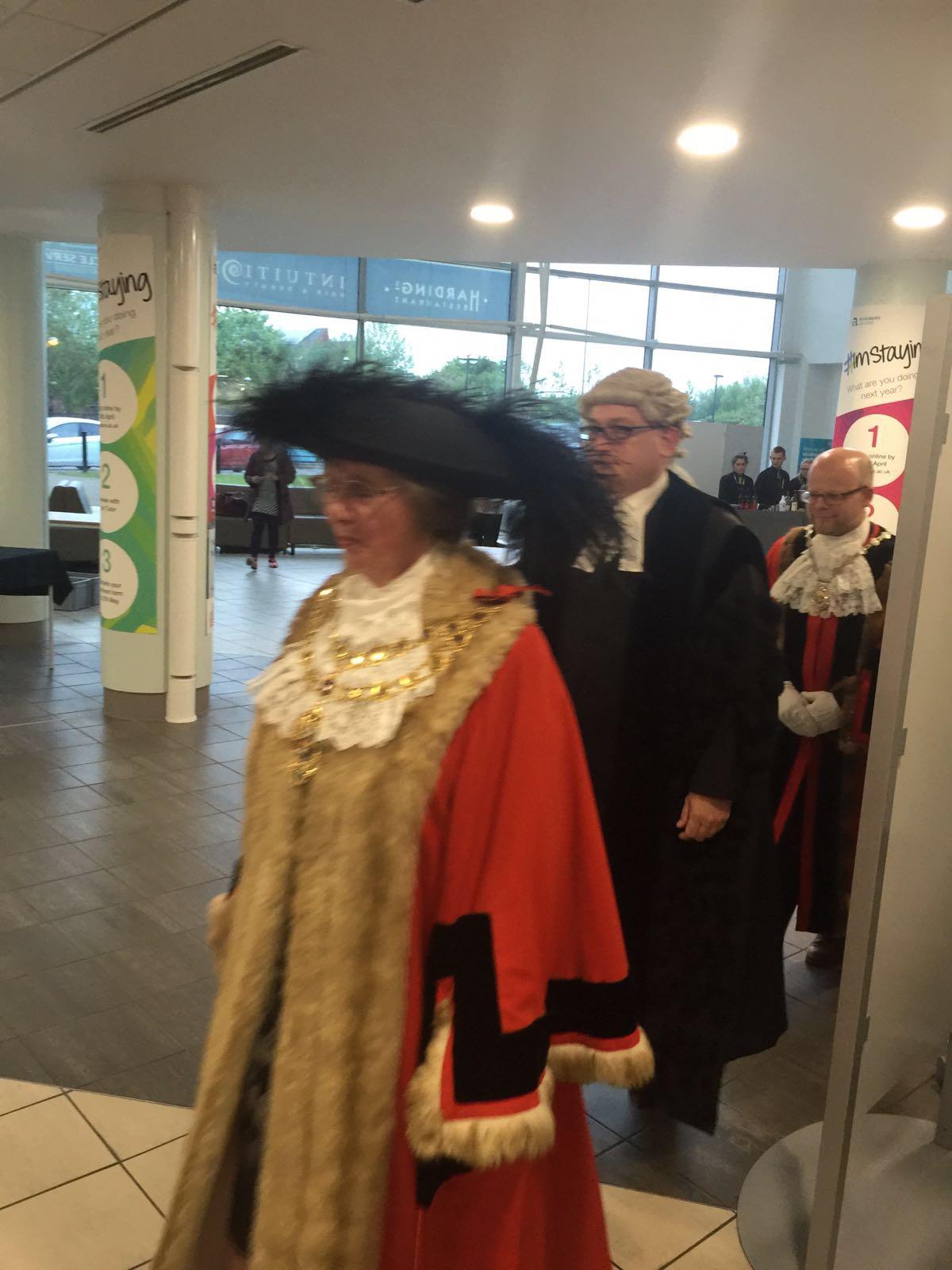 New Mayor of Aylesbury ,Cllr Barbara