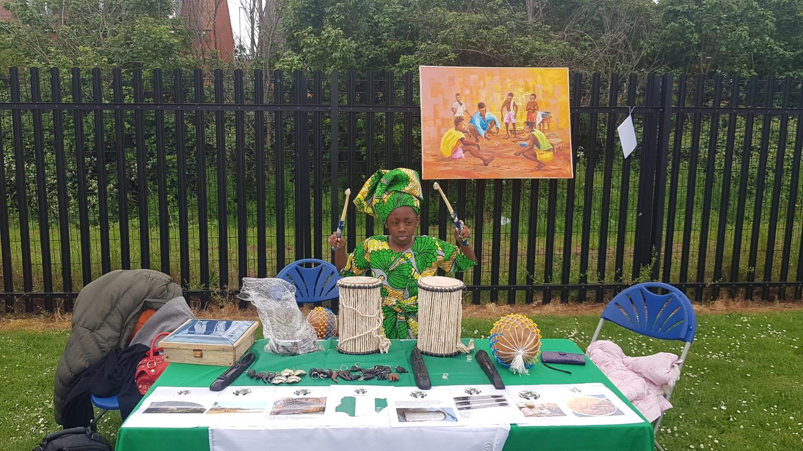 Nigerian Princess @ World Fair Day