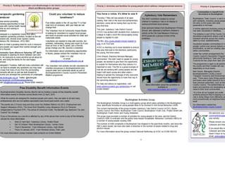 NCAA featured in Aylesbury vale Newsletter