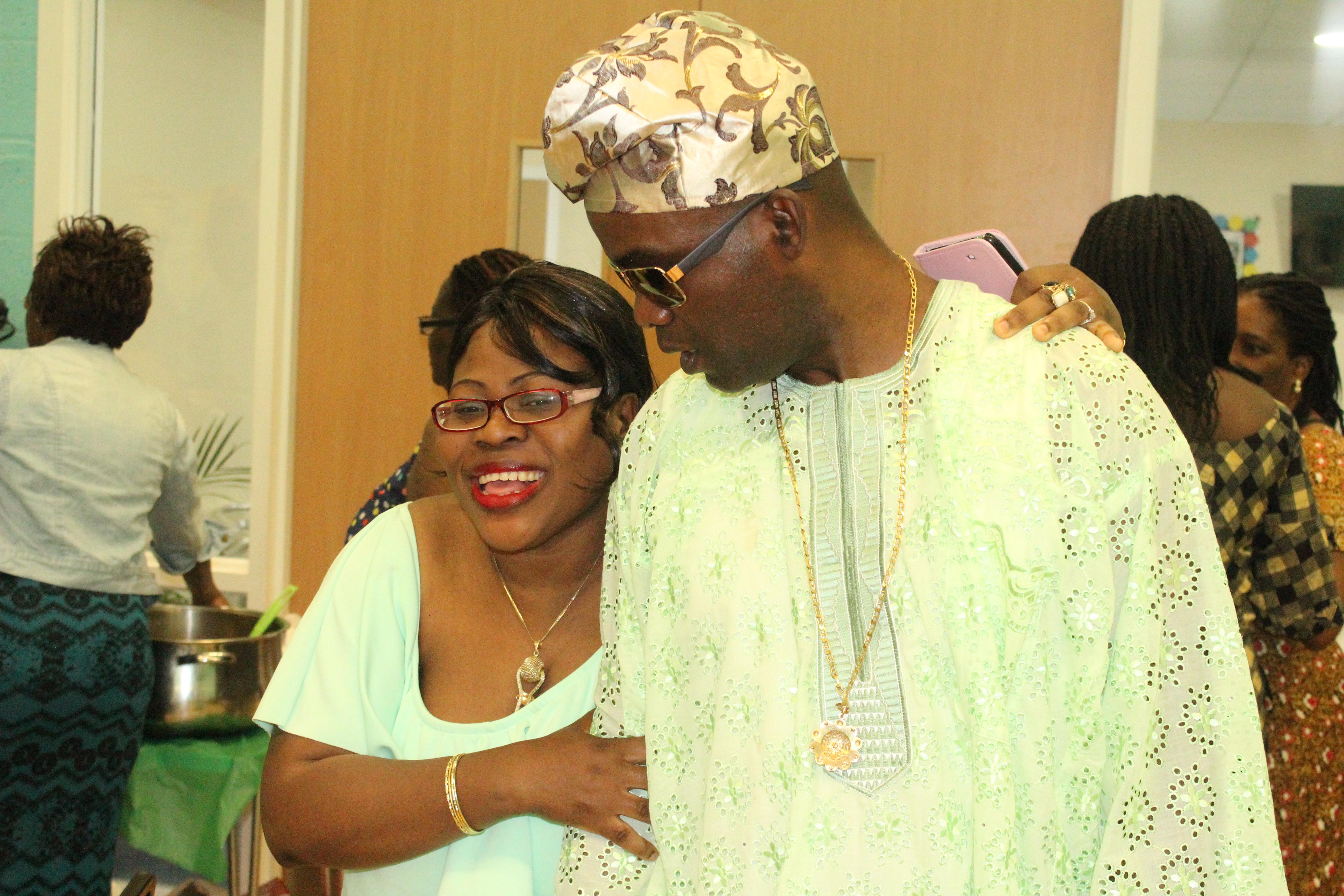Mr and Mrs Olaoye