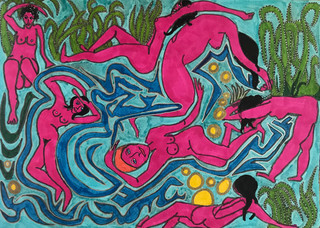The Pink Bathers