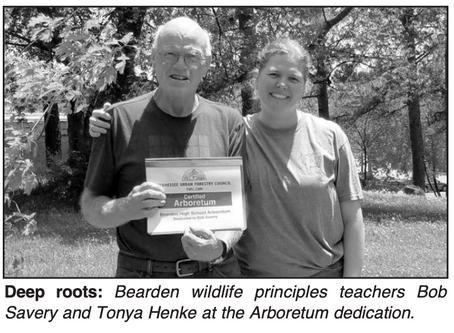 Arboretum named in honor of Bearden teacher