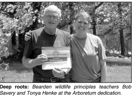 Arboretum named in honor of Bearden teacher