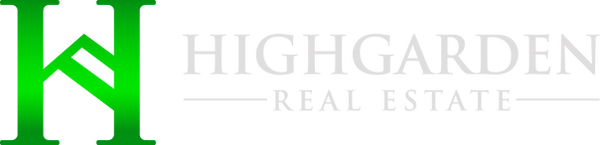 Highgarden Horizontal Logo for Dark Back