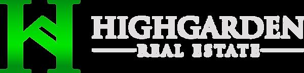 Highgarden Horizontal Logo for Dark Back