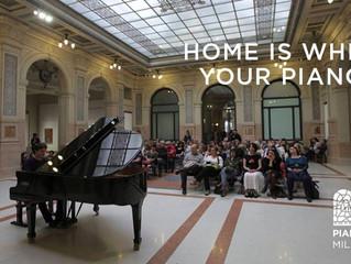Piano City Milano sta arrivando, lasciate che i pianoforti suonino!