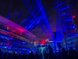Milan comes alive with the first Urban Laser Show and the beats of Fatboy Slim