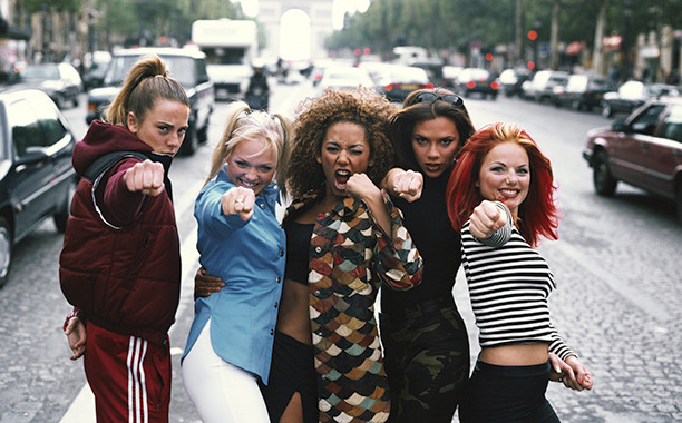 """Spice Girls's """"Wannabe"""" becomes a funny feminist videoclip remake  - sound identity music matters blog, sound branding sound design tbt old days musci in history marketing commercial campaign"""