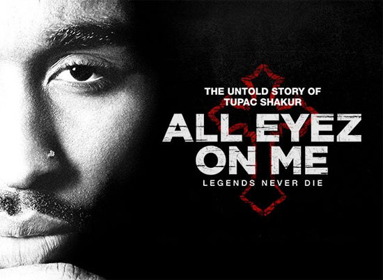 All Eyez on Me, the new trailer about Tupac Shakur piopic film, sound identity musicmatters, soundtrack