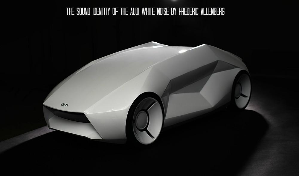 audi white noise frederic allenberg - sound identity blog
