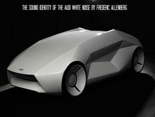 The sound identity of the Audi White Noise concept