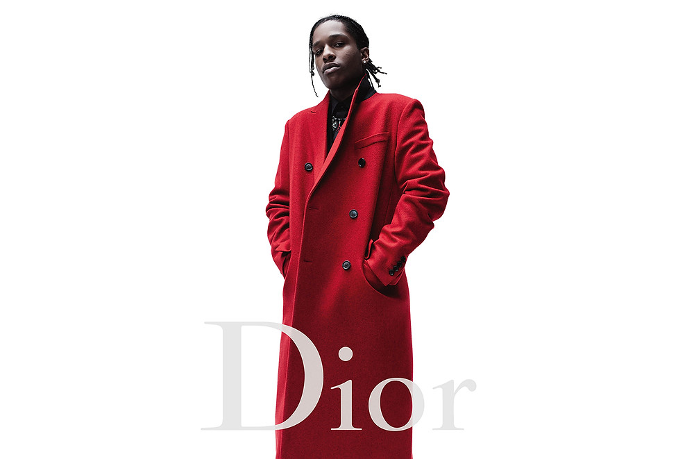 The new Dior urban dandy - With A$AP Rocky, hip hop meets fashion - the rapper the new face of Dior Homme for the Fall/Winter 2016 campaign - sound identity musicmatters - audio branding sound design marketing - music blog