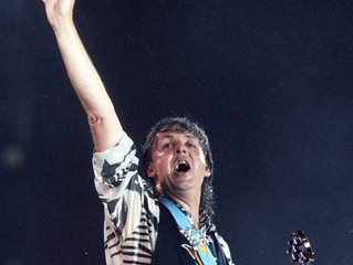 21 April 1990, Paul McCartney sets a new record