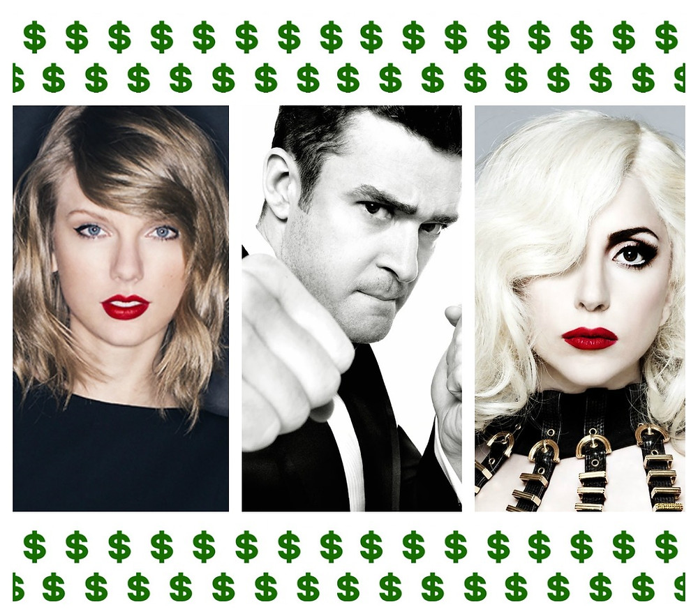 Discover the ranking of most 'marketable' artists - Taylor Swift, Justin Timberlake, Lady Gaga - marketing, social media, digital viral communication promotion, advertising, campaign, branding - Sound Identity blog