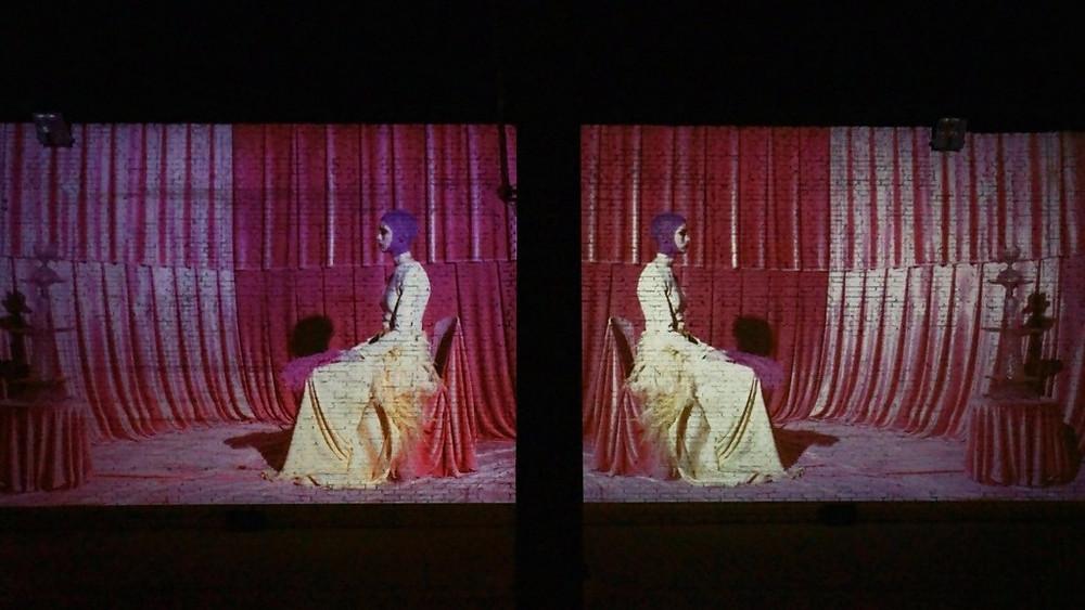 The Italian Haute Couture transposed in an audio-visual solemn work alta roma jeff bark mark korven, sound identity, musicmatters, sounndtrack, audio-visual installation, fashion, art