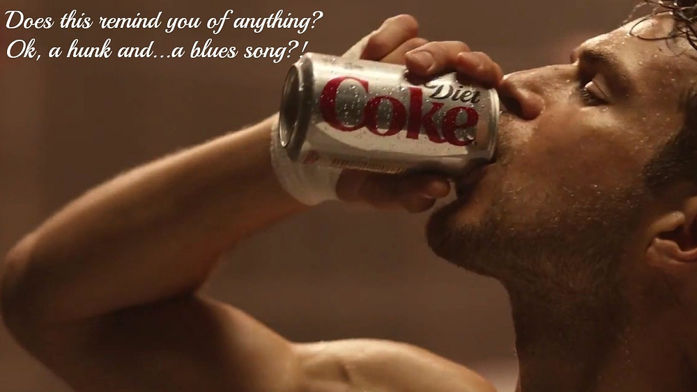 Coca-Cola Light, fusti e blues ... una pubblicità dalla lunga storia - diet coke  ad etta james  Just want to Make Love to You blues soundtrack - sound branding audio sonic spot marketing music news - sound identity musicmatters music blog