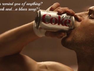 Coca-Cola Light, fusti e blues ... una pubblicità dalla lunga storia