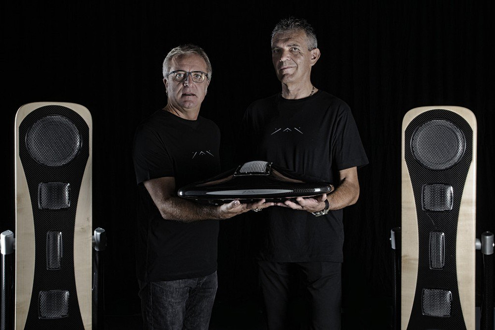Adriano Marconetto and Giancarlo Sopegno YAR: the € 250,000 audio system made by a start-up in Turin - Sound Identity blog