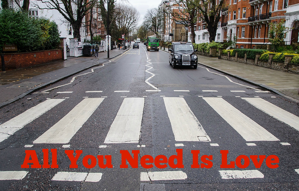 """Simple is better, after all, """"All You Need Is Love"""" - the beatles - this day in music history - sound identity"""